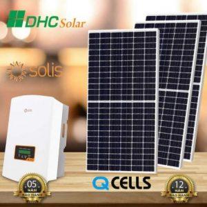 lắp đặt hệ thống điện mặt trời 5kW