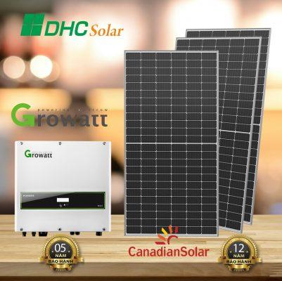 Lắp đặt điện năng lượng mặt trời 10kW trọn gói