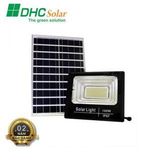Đèn pha năng lượng mặt trời 100W siêu sáng
