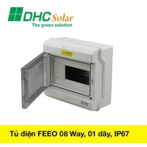 Tủ điện mặt trời 8 way