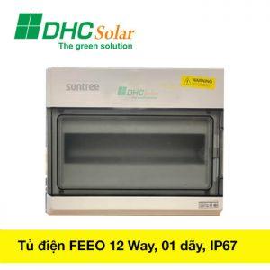 tủ điện mặt trời 12 way