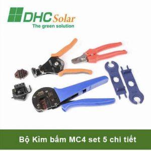 Bộ kìm bấm MC4 điện mặt trời