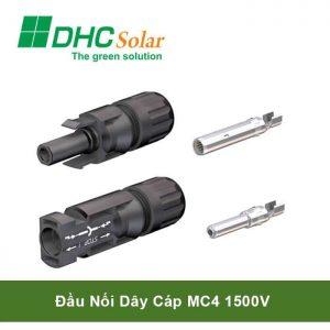 Đầu nối dây cáp MC4 1500v điện mặt trời