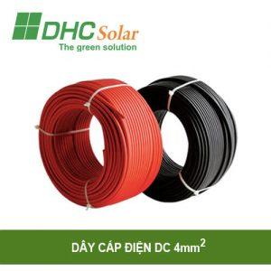 Dây cáp điện DC 4mm2