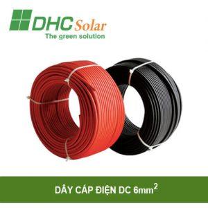 Dây cáp điện DC 6mm2 điện mặt trời