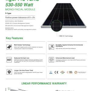 Tấm Pin Jinko Solar 530W