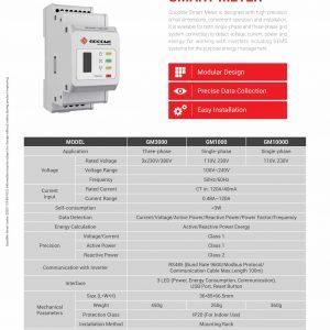 Goodwe Smart Meter Datasheet