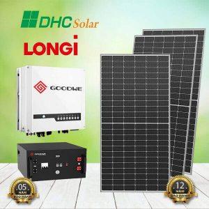 hệ thống điện mặt trời Hybrid 3kW