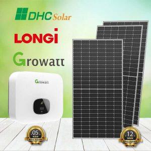 hệ thống điện mặt trời 8kW